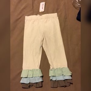 SBV. Tri-Colored Capris. Size Med. NWT
